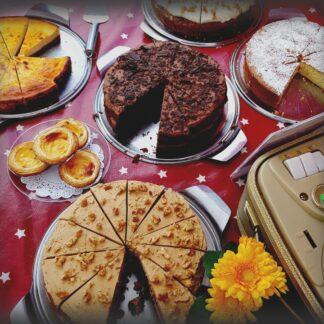 Cakes, Sweets & Croissaints